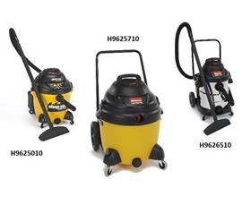 ECONOMY RIGHT STUFF SERIES CONTRACTOR WET/DRY VAC