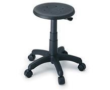 PNEUMATIC LIFT STOOL ON CASTERS